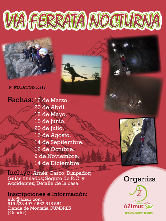 Cartel Vía ferrata 2019-01